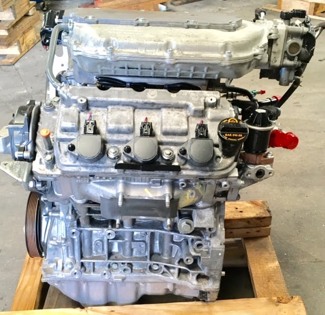 Honda Ridgeline 3 5l Engine 2009 2010 2011 2012 2013 2014