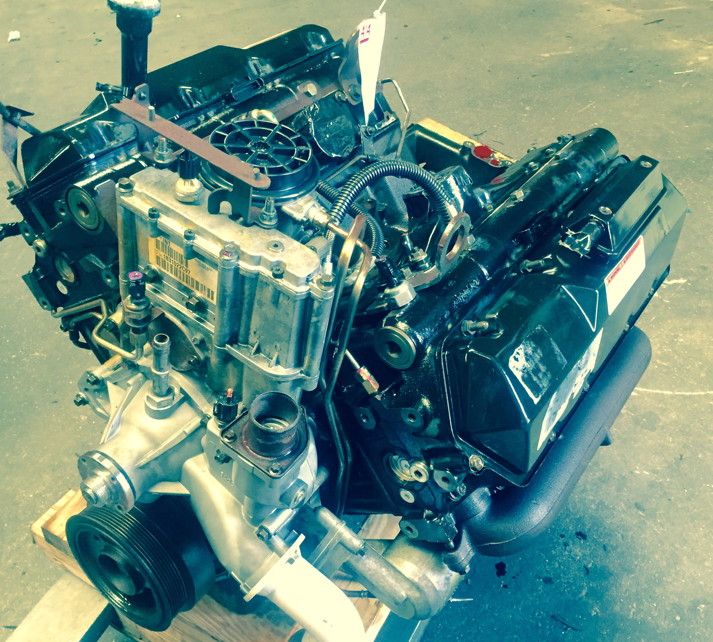 Ford F250 / F350 / F450 / F550 Engine 7.3L Diesel 2001 ...
