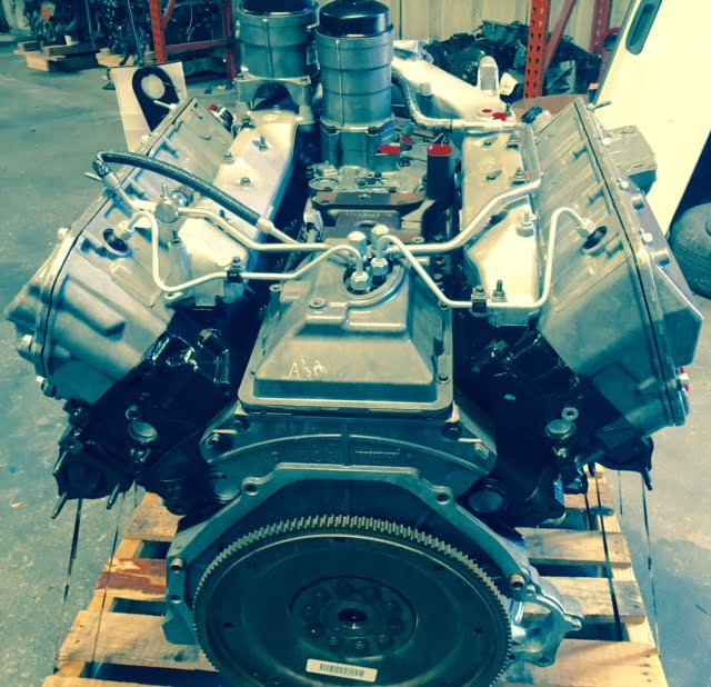 Ford F250 F350 F450 F550 64L Diesel Engine 2008