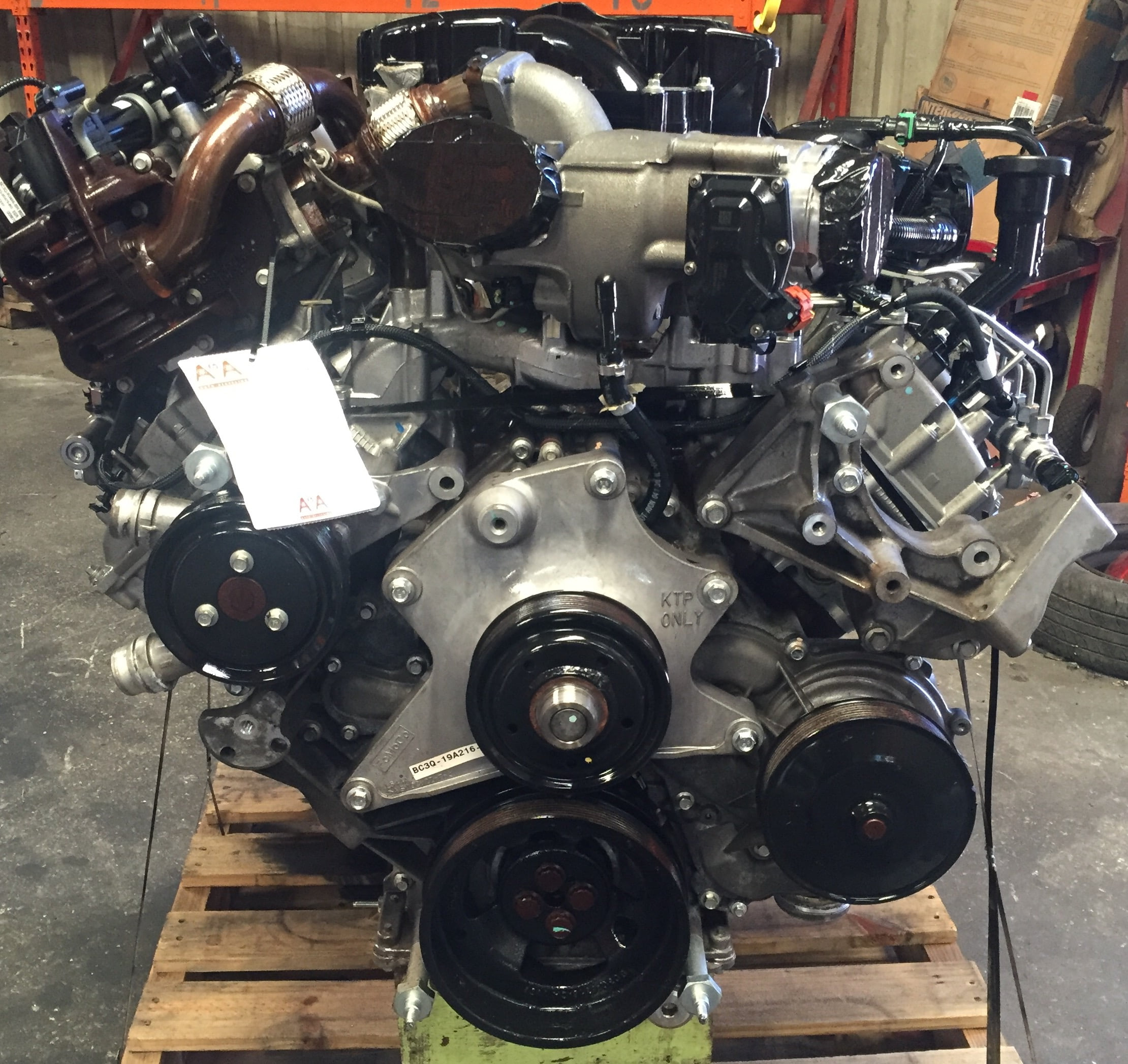 Ford F250 F350 F450 F550 6 7l Diesel Engine 2011