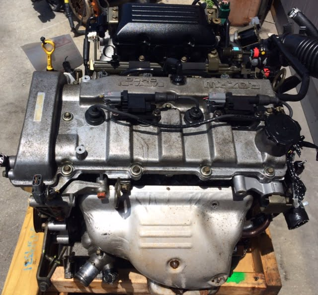 How To Replace Engine In A 2001 Mazda Protege