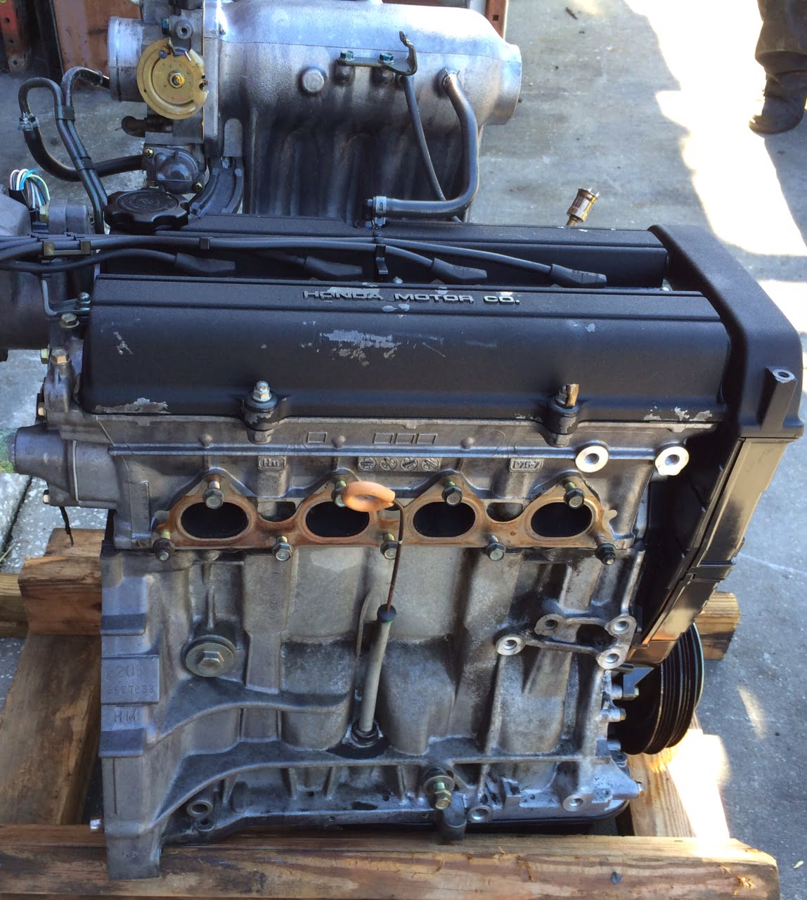 Acura Integra Engine Base Model 2.0L DOHC Non V-Tec 1994