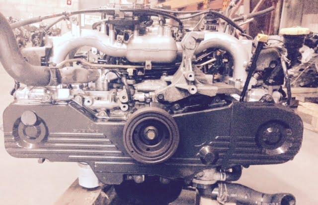 Subaru Impreza Forester Lecacy Outback Engine 2 5l Non