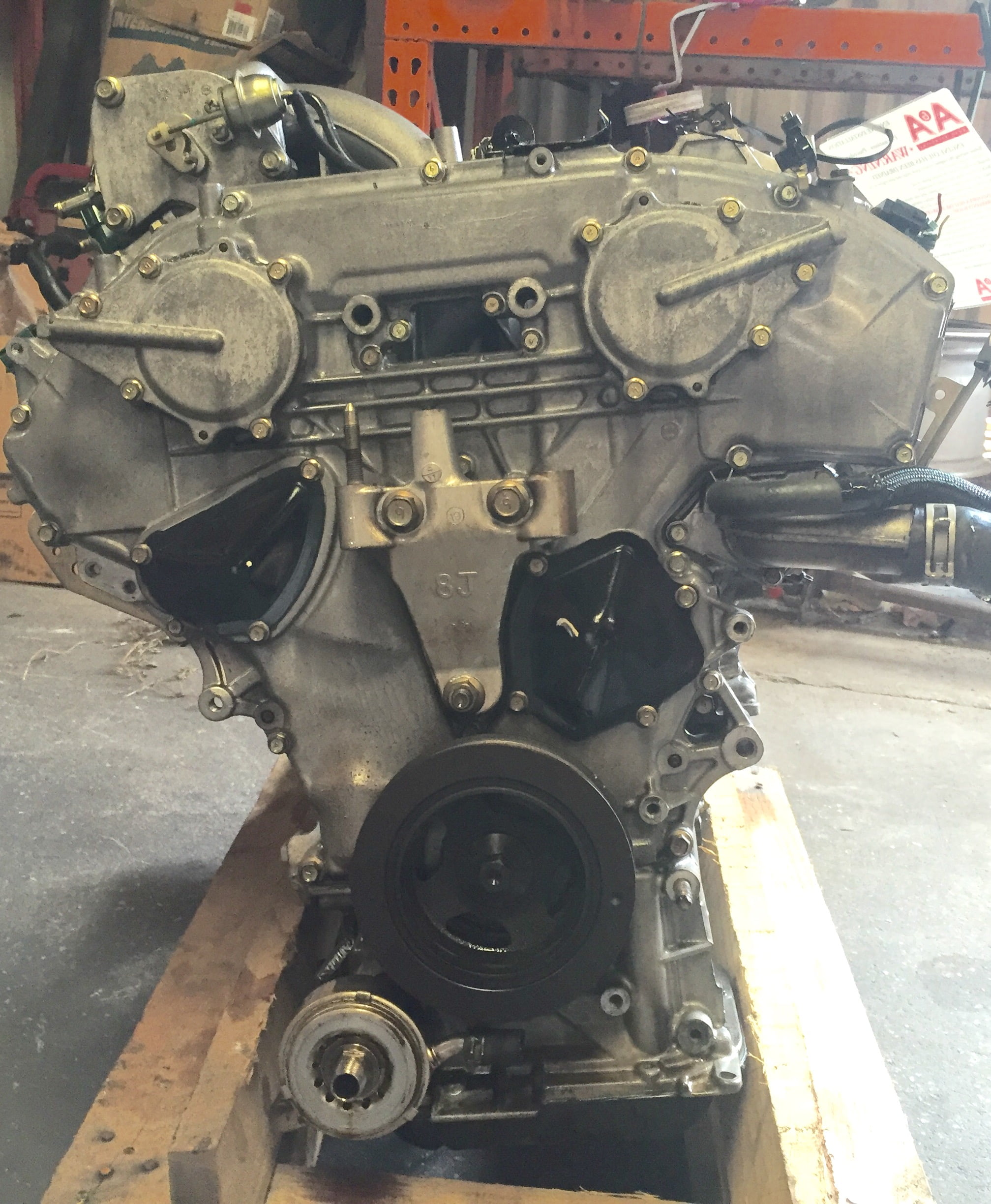 Nissan Quest FWD 3.5L Engine 2005 2006 2007 2008 2009 | A ...