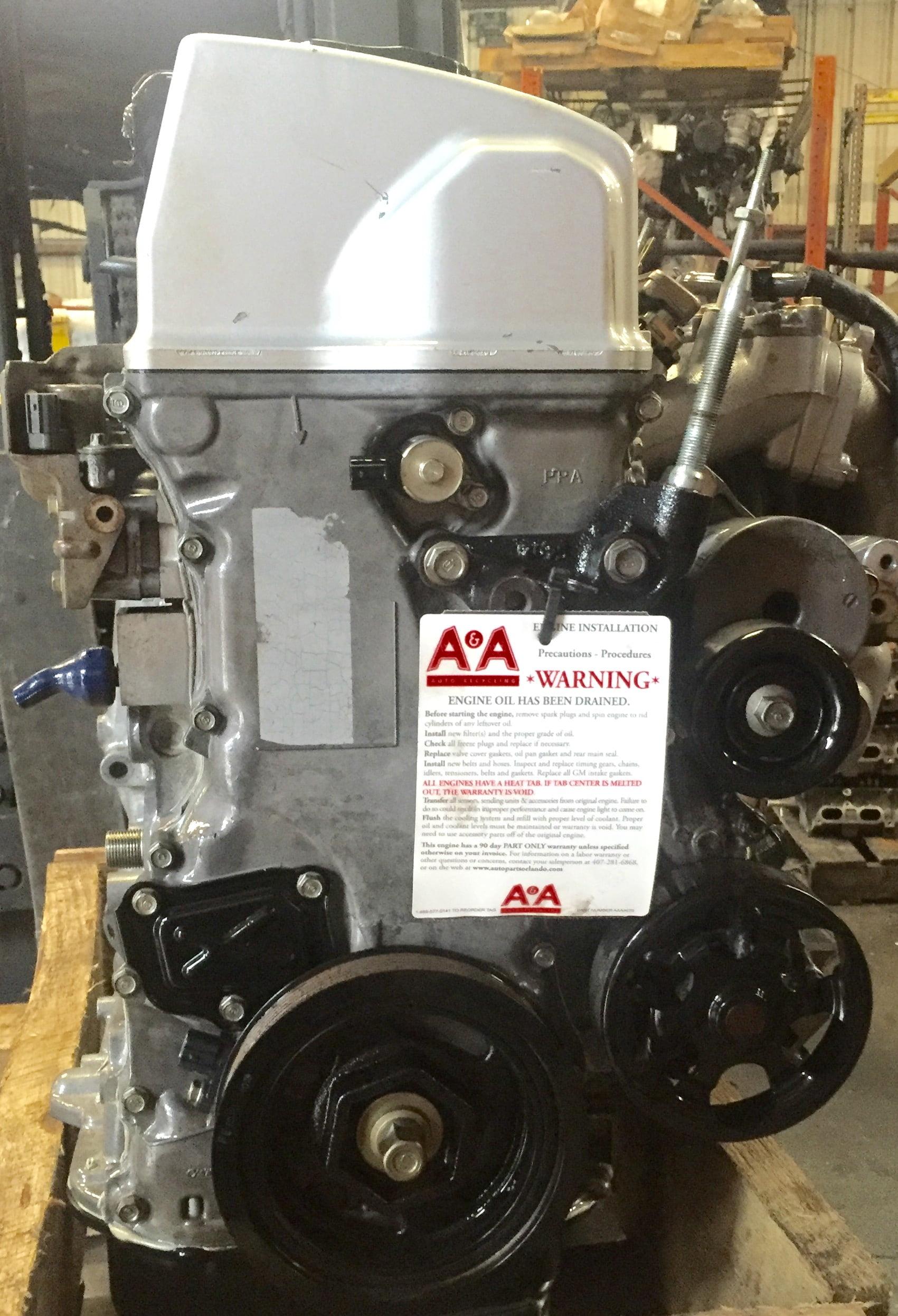 Auto Parts Interchange >> Honda CRV Engine 2.4L 2002 – 2006 | A & A Auto & Truck LLC