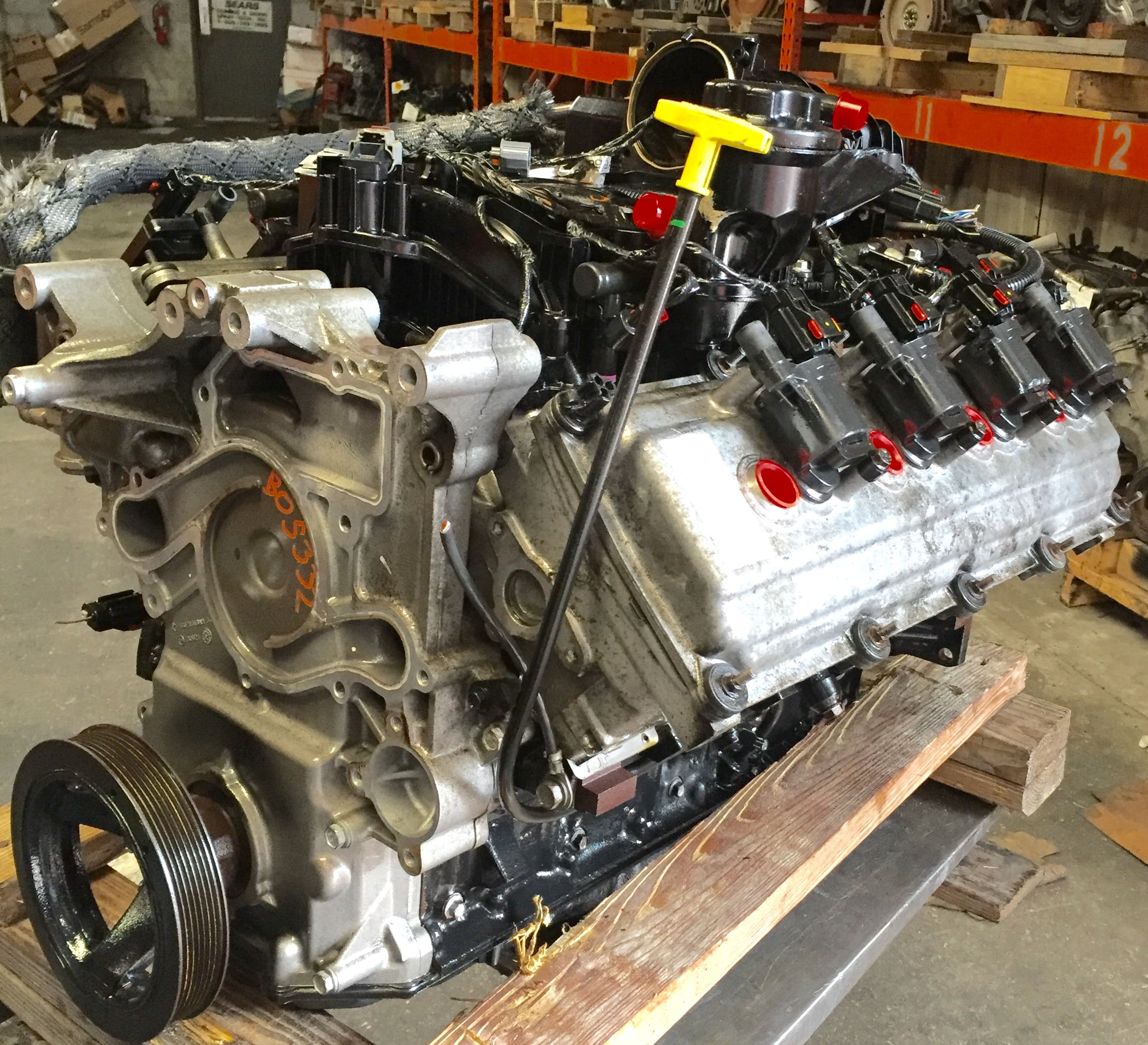 Dodge Ram Pickup Durango Engine 5 7l 2005