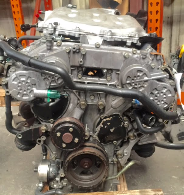 Nissan 350z Infinity G35 3 5l Engine 2005 2006 2007 Rev Up