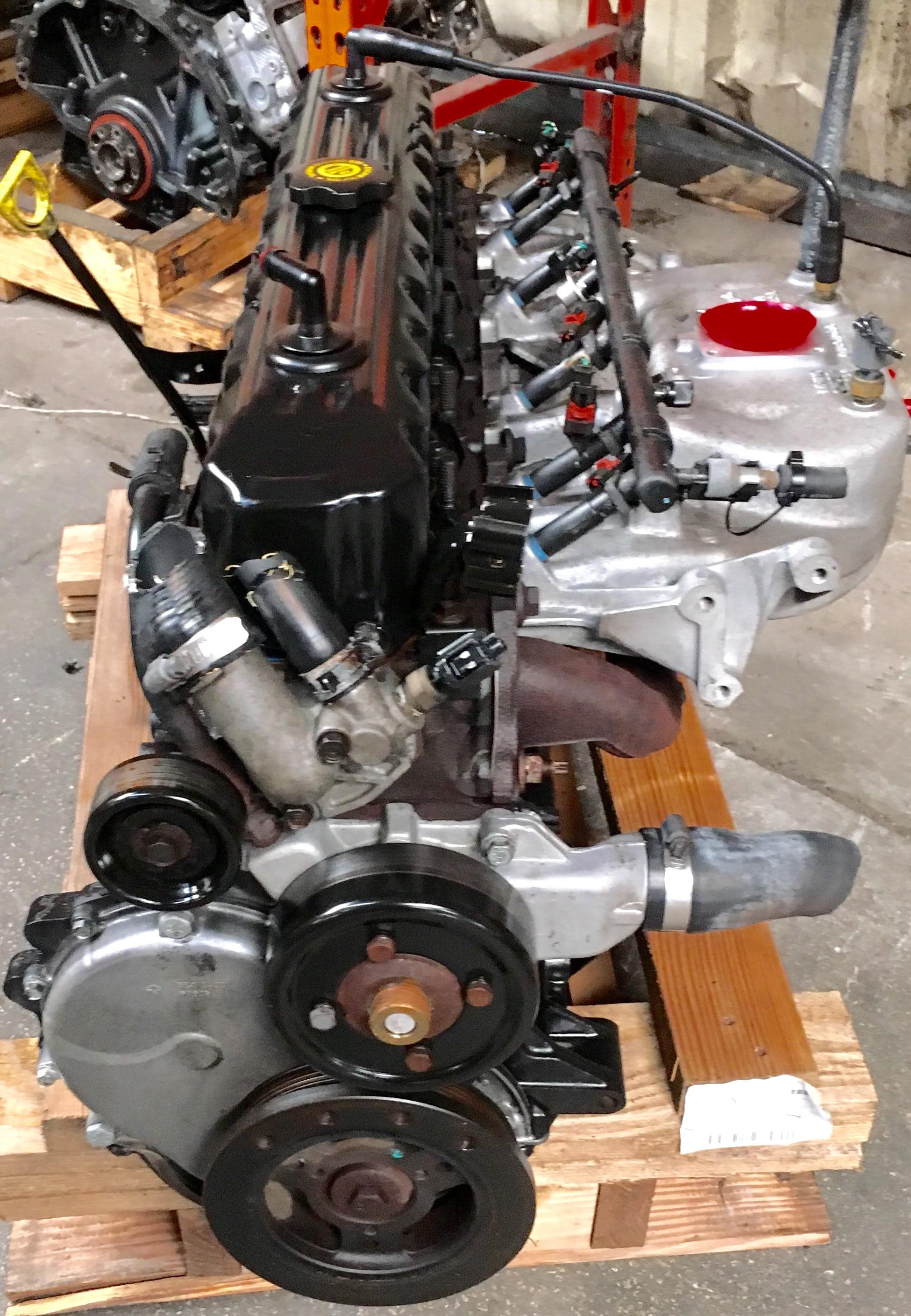 Jeep Grand Cherokee  U2013 Wrangler Engine 4 0l 1999 200 2001