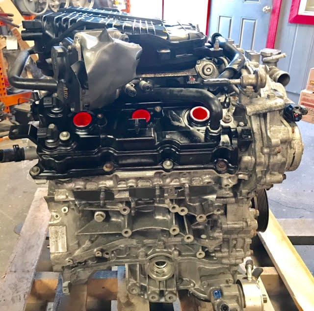 engine nissan g35 ex35 2008 350z 2007 2009 g37 5l 370z infinity q40 m35 fx35 q50 7l qx50 q60 m37