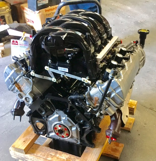 Ford 2 3 Engine Review: Ford F150 4.6L 3V Vin# 8 Engine 2009 2010