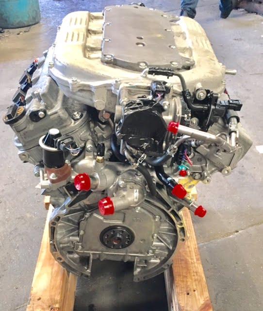 Honda Ridgeline 3.5L Engine 2009 2010 2011 2012 2013 2014 ...