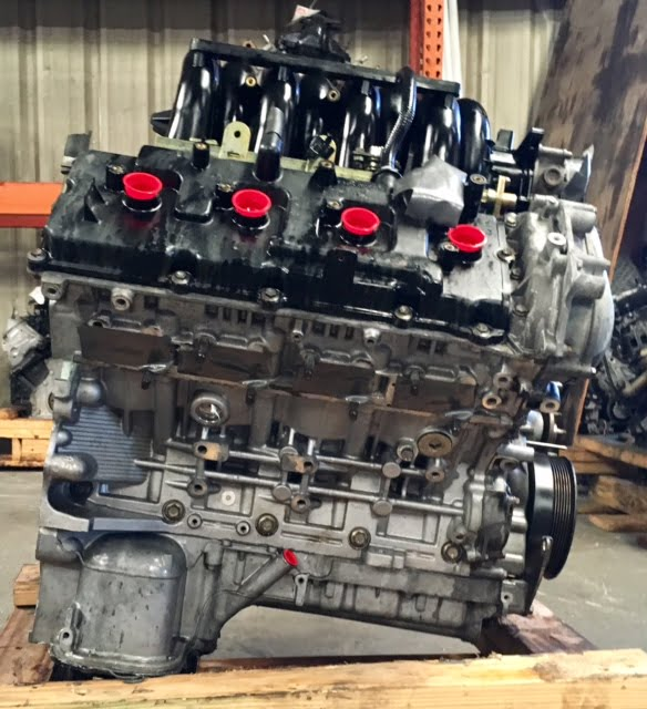 Nissan Armada Titan Infinity Qx56 5 6l Engine 2004 2005