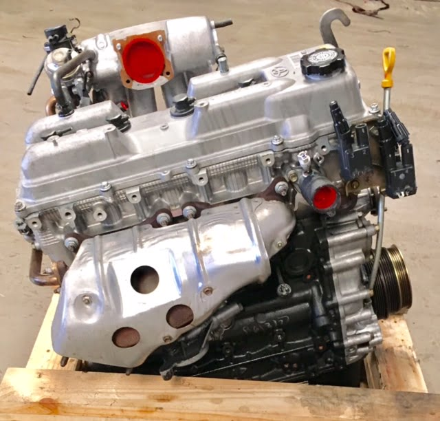 Toyota Tacoma 2 4l Engine 1997 1998 1999 2000 2001 2002