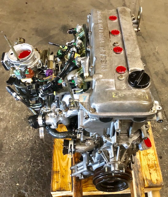 Cylinder Head Removal W126: Nissan Frontier Xterra 2.4L Engine 2001 2002 2003 2004